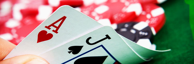 Online Gambling cards of BlackJack 21